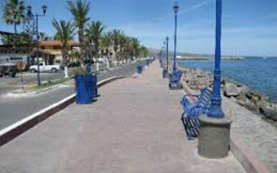 The Malecon In Loreto, BCS